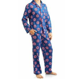 Marvel Pants - New Men's Marvel Captain America Superhero Pajamas